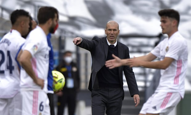 Real Madrid confirm departure of Zinedine Zidane as manager